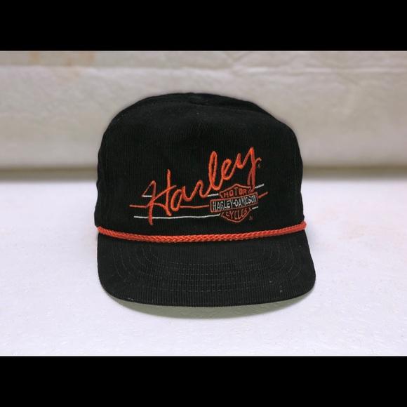 667a5ffdf2a1d Harley-Davidson Other - Corduroy Harley Davidson motorcycle hat